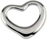 Tiffany & Co. 925 Sterling Silver Elsa Peretti Medium Open Heart Pendant