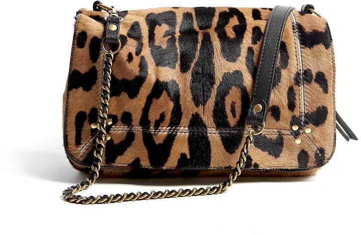 Jrme Dreyfuss Bobi Leopard Classic Crossbody Bag