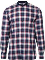 MAISON KITSUNÉ 'James' checked shirt