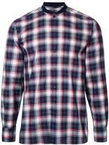 MAISON KITSUNÉ 'James' checked shirt