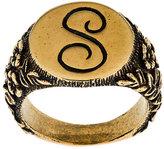 Stella McCartney embossed S ring