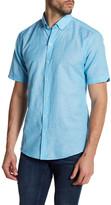 Zachary Prell Weisbrot Short Sleeve Print Woven Shirt