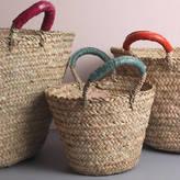 Bohemia Moroccan Handmade Woven Storage Basket || Beldi