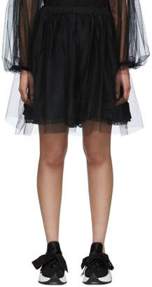 MM6 MAISON MARGIELA Black Tulle Skirt