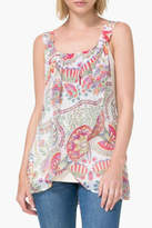 Desigual Floral Ivory Tank