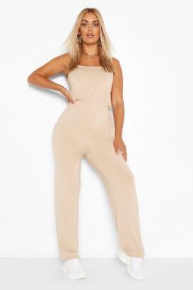 boohoo Plus Basic Cami Jumpsuit