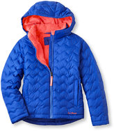 L.L. Bean Girls Beans Fleece-Lined Down Jacket