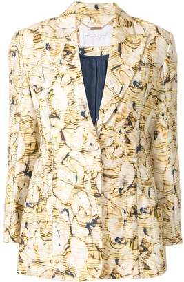 Camilla And Marc Caspian print blazer
