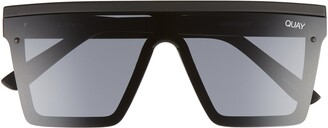 Quay Hindsight 67mm Shield Sunglasses