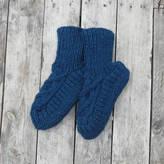 Aura Que Jana Wool Knitted Slipper House Socks