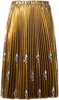 No.21 Swarovski crystal 'Runway' skirt