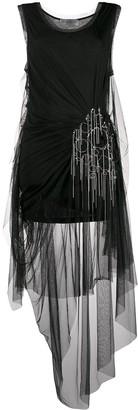 Faith Connexion Draped Tulle Dress
