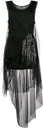 Faith Connexion draped tulle dress