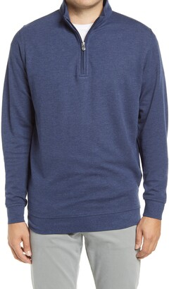Peter Millar Comfort Interlock Quarter Zip Pullover