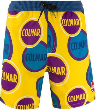 Colmar Logo Colour-Block Shorts