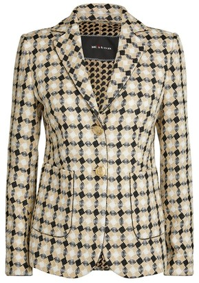 Kiton Diamond Tweed Blazer