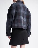 Stella McCartney Striped Trumpet-Front Skirt