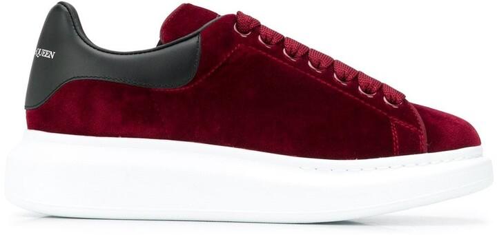 Alexander McQueen Red Women's Sneakers