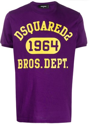 DSQUARED2 graphic-print crew neck T-shirt