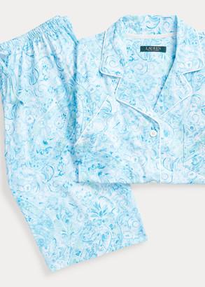 Ralph Lauren Cotton Bermuda PJ Set