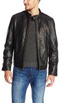 Andrew Marc Men's Radford Distressed-Leather Jacket