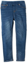 Hudson Toddler Girls) Pull-On Stretch Denim Pants
