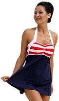 Ujena Sailor Girl Swim Dress Tankini Sold as Top, Bottom or Set