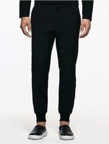 Calvin Klein Platinum Wool Cashmere Joggers