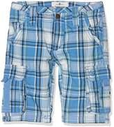 Fat Face Boy's Sandbanks Check Cargo Shorts