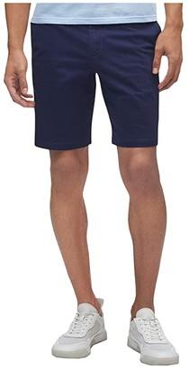 Calvin Klein Refined Stretch Chino Shorts (Black) Men's Shorts