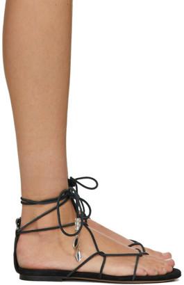 Isabel Marant Black Jindia Sandals