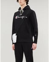 Champion Logo-print cotton-jersey hoody
