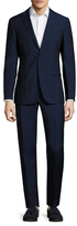 Z Zegna Solid Buttoned Suit