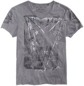 Buffalo David Bitton Men's Towell Burnout Graphic-Print T-Shirt