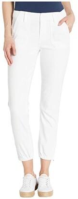 Paige Mayslie Jogger (Crisp White) Women's Casual Pants
