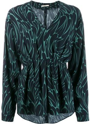 Odeeh V-neck blouse
