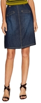 Rachel Roy A-line Denim Midi Skirt