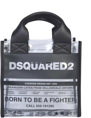 DSQUARED2 Small Shopping Bag With Logo