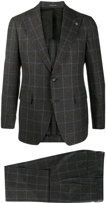 Tagliatore Check Single-Breast Blazer