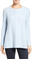 Nordstrom Women's Cable Knit Cashmere Sweater