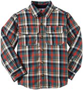 Petit Bateau Plaid Jacket (Toddler/Kid) - Multicolor-3 Years