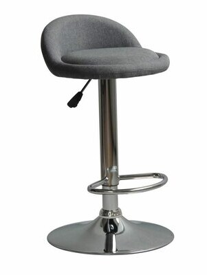 Orren Ellis Murrell Contemporary Adjustable Height Swivel Bar Stool