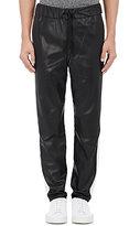 Rag & Bone Men's Everett Leather Trousers-BLACK
