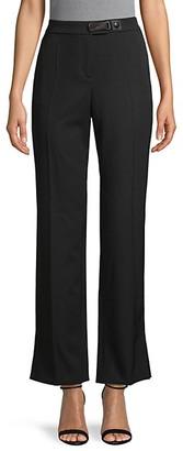 Giorgio Armani Wide-Leg Wool Trousers