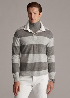 Ralph Lauren Striped Cashmere Rugby Sweater