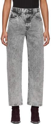 Alexander Wang Grey Curb Jeans