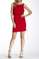 Jessica Simpson JS4A6776 Beaded Shoulder Jersey Cocktail Dress