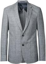 Cerruti woven check blazer
