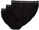 HUGO BOSS Brief 3-Pack US CO 10145963 01 (Black) Men's Underwear