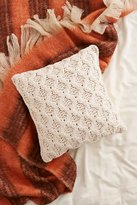 Urban Outfitters Chunky Cotton Knit Pillow